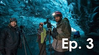 getlinkyoutube.com-Photographing The World BTS ep 3: The Glacier Ice Cave