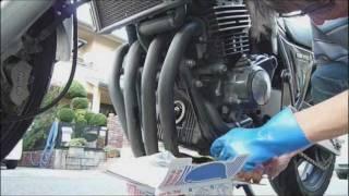 getlinkyoutube.com-初めてのオイル&フィルター交換(CB400SF)