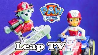 getlinkyoutube.com-PAW PATROL Nickelodeon Paw Patrol Leap TV Marshall Paw Patrol Video Game