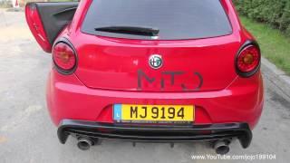 getlinkyoutube.com-Alfa Romeo MiTo Magneti Marelli Parco Chiuso 2.0 Sound + Skat