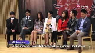 """getlinkyoutube.com-Showbiz Korea-PRESS CONFERENCE OF THE DRAMA """"HEARD IT THROUGH THE GRAPEVINE"""