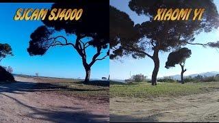 getlinkyoutube.com-Xiaomi Yi vs SJ4000 side by side: sea, sand and seaside forest