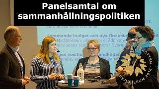 EUInMyRegion - Panelsamtal om sammanhållningspolitiken inom EU