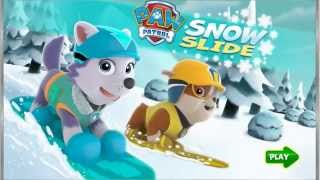 getlinkyoutube.com-Paw Patrol And The Big Freeze - Paw Patrol Chase And Skye Kiss HD