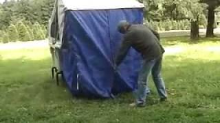 getlinkyoutube.com-The MOAB DIY Folding Tent - How to Set One Up
