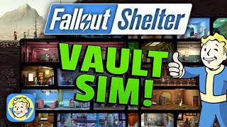 getlinkyoutube.com-Fallout Shelter Gameplay:  VAULT SIMULATOR!! - Mobile Game iOS/iPhone