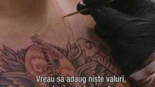 getlinkyoutube.com-LA Ink - Corey Miller - Skull Roses Wings