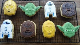 Butter Cookies (Star Wars Cookies).....how to