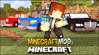 getlinkyoutube.com-Minecraft Mod: Carros No Minecraft !! ( Caminhão,Caminhonete) Vehicular Movement Mod