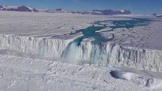 Antarctic Ice Shelf Fracturing