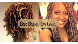 getlinkyoutube.com-Box Braids On Locs