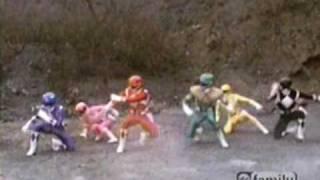 Power Rangers vs Commander Crayfish and The Mutant Rangers