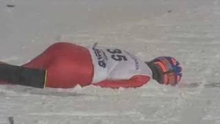 getlinkyoutube.com-ski jump crash - Bjoern Einar Hagemoen - Lillehammer 2009