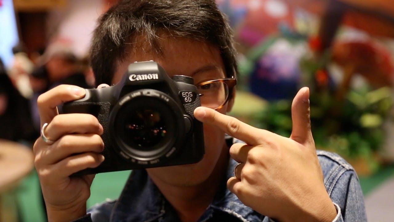 DigitalRevTV känner på Canon 6d. -Johan Lyckaro