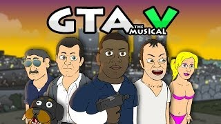 getlinkyoutube.com-♪ GRAND THEFT AUTO 5 THE MUSICAL - GTA V Rap Parody