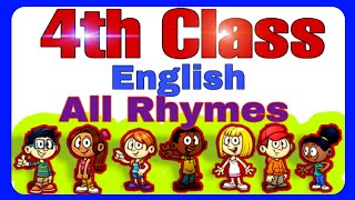 4th class English All Rhymes / Ap 4th class English poems