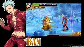 getlinkyoutube.com-The Seven Deadly Sins: Unjust Sin - Trailer do Gameplay de Ban (JP)
