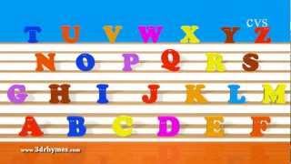 getlinkyoutube.com-ABC Song - Alphabet Songs - Phonics Song  For children in 3D Animation rhymes