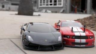 getlinkyoutube.com-RC Drift Cars vs Parkour
