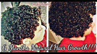 getlinkyoutube.com-♡ My Natural Hair Journey from Big Chop to 6 Months  | mcfarlingirl