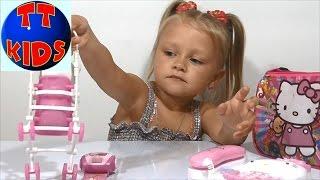 getlinkyoutube.com-✔ Хелло Китти Сумка Сюрприз игрушки распаковка Hello Kitty Surprise Bag unboxing toys Серия 1 ✔