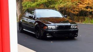 getlinkyoutube.com-E39 BMW M5 V8 - Custom Exhaust Sounds, Revving, Launch, Burnout Fishtail Powerslide...