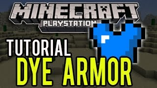 getlinkyoutube.com-Minecraft PS3 Update 1.04 (TU14) - How To Dye Armor (TUTORIAL)