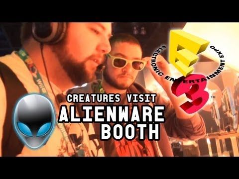 The Creatures Visit the Alienware Booth (E3 2013)