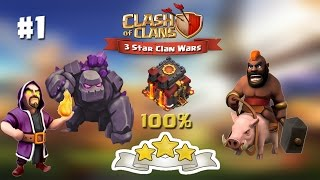 getlinkyoutube.com-Clash of Clans | TH10 | 3 Star Attacks with GoWiHo #1