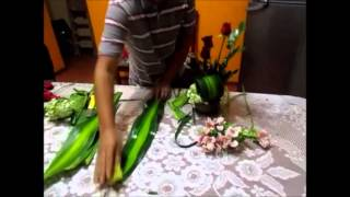 getlinkyoutube.com-Como hacer un arreglo Floral Facill ! Video