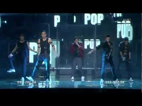 "Eurovision 2011 Sweden Eric Saade ""Popular"""