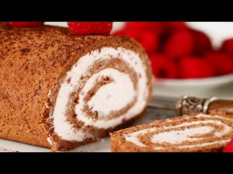 Chocolate Sponge Cake Recipe Demonstration - Joyofbaking.com