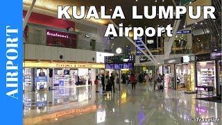 getlinkyoutube.com-Kuala Lumpur International Airport - Satellite Terminal  - Transfer to connection flight - KLIA