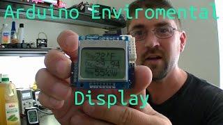 getlinkyoutube.com-Arduino Pro-Mini Enviromental Display Project
