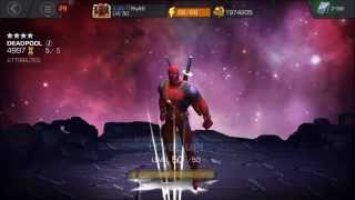 4 Star Deadpool Rank Up! Rank 5!!!!!!! My first ever 4 Star R5!