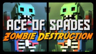 getlinkyoutube.com-Ace of Spades: ZOMBIE DESTRUCTION! (Spread the Virus Mode)