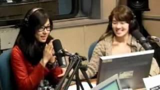 getlinkyoutube.com-Tiffany & Hyoyeon (SNSD) Opening Mistake @ Old School Radio 1/6 Mar10.2010 GIRLS' GENERATION
