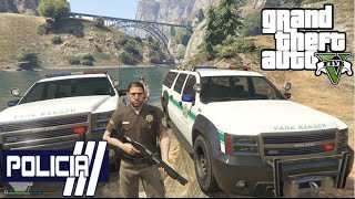 getlinkyoutube.com-GTA V - PoliceMod 1.0c: Patrulha Florestal #7