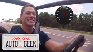 John Cena's FIRST WWE PAYCHECK paid for this vintage Jeep Wrangler! - John Cena: Auto Geek