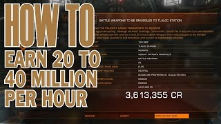 getlinkyoutube.com-Elite:Dangerous. How to earn 20 to 40 million credits per hour