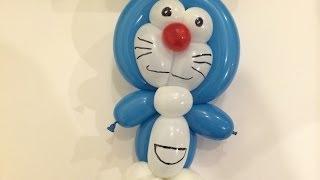getlinkyoutube.com-簡単 バルーンアート ドラえもん ⑩  作り方 Doraemon