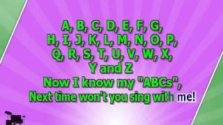getlinkyoutube.com-Karaoke for kids   ABC Alphabet Song   slow
