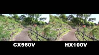 getlinkyoutube.com-CX560VとHX100Vの比較