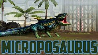 MICROPOSAURUS - Jurassic World The Game - Maxed