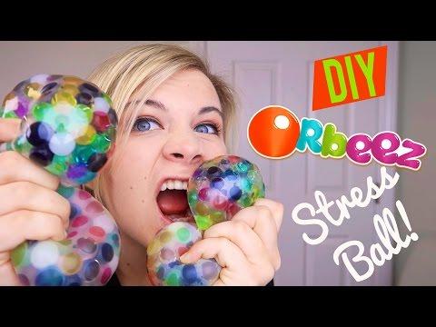 DIY ORBEEZ STRESS BALL!!