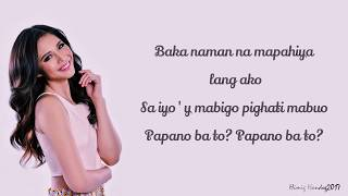 Janella Salvador - Wow Na Feeling (Lyrics) Himig Handog 2017