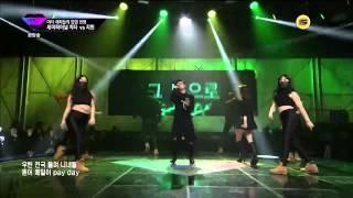 getlinkyoutube.com-Jimin (AOA) & Iron - Puss (LIVE MV) [Unpretty Rapstar Semi Final]