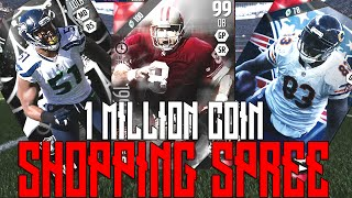 1 Million Coin MUT 16 Shopping Spree!?! | Huge Position Upgrades | Madden Ultimate Team 16