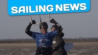 Alexandre Caizergues Sets New World Sailing Speed Kitesurfing Record (56.62 knots)
