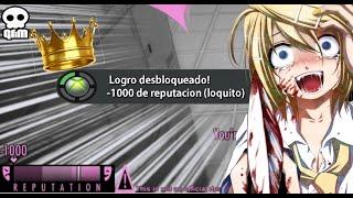 -1000 DE REPUTACIÓN! LA REINA ANTISOCIAL DE SENPAI ( ATMOSFERA) - YANDERE SIMULATOR #14